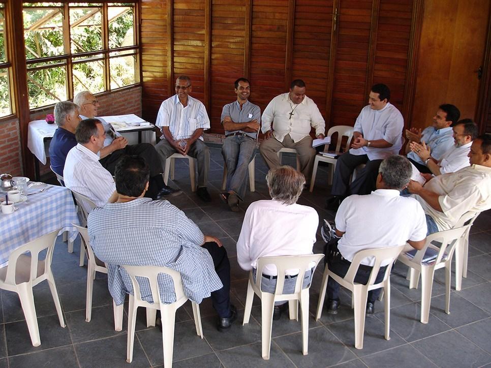 Spotkanie z kapłanami i liderami identyfikującymi się z charyzmatem Miłosierdzia.